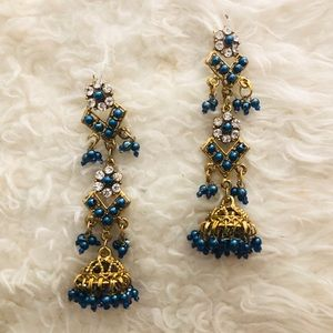 Indian Bollywood Statement Earrings